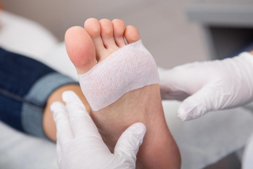 Bandage foot